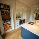 beautiful shaker kitchen cheshire